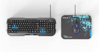 E-Blue Cobra EKM820 Keyboard Mouse Mousepad Combo Pack for PC Games