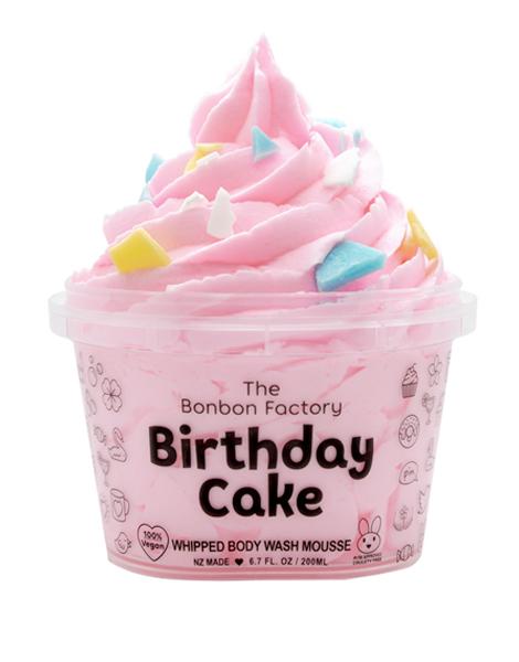 The Bonbon Factory Body Wash - Birthday Cake (200g) image