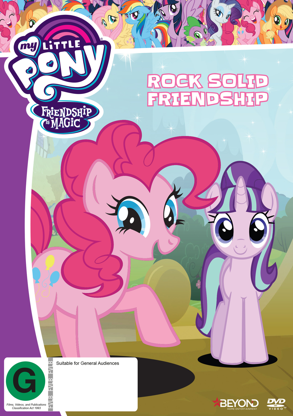 My Little Pony: Friendship Is Magic - Rock Solid Friendship on DVD image