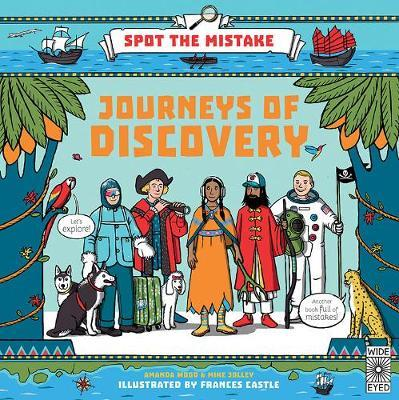 Spot the Mistake: Journeys of Discovery by Aj Wood image