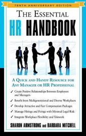 The Essential HR Handbook - Tenth Anniversary Edition by Sharon Armstrong