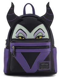 Loungefly: Disney Maleficent Face - Mini Backpack