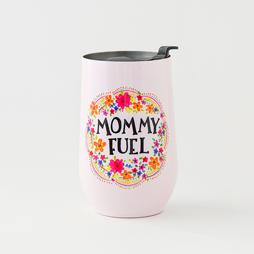 Natural Life: Wine Tumbler - Mommy Fuel