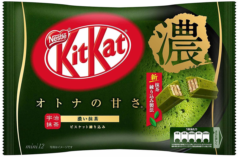 KitKat Mini Share Pack - Koi Matcha Strong Green Tea 136g 12pk image