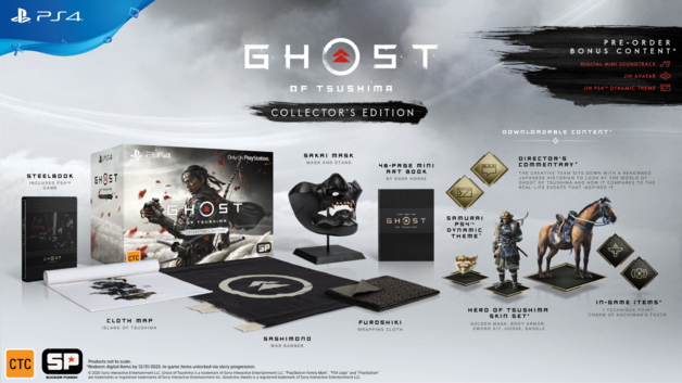 Ghost of Tsushima Collector's Edition for PS4