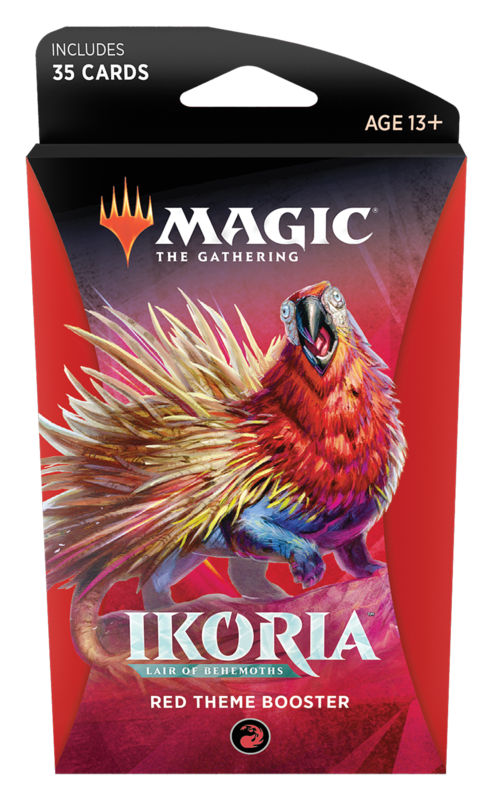 Magic the Gathering: Ikoria: Lair of Behemoths - Theme Booster Red