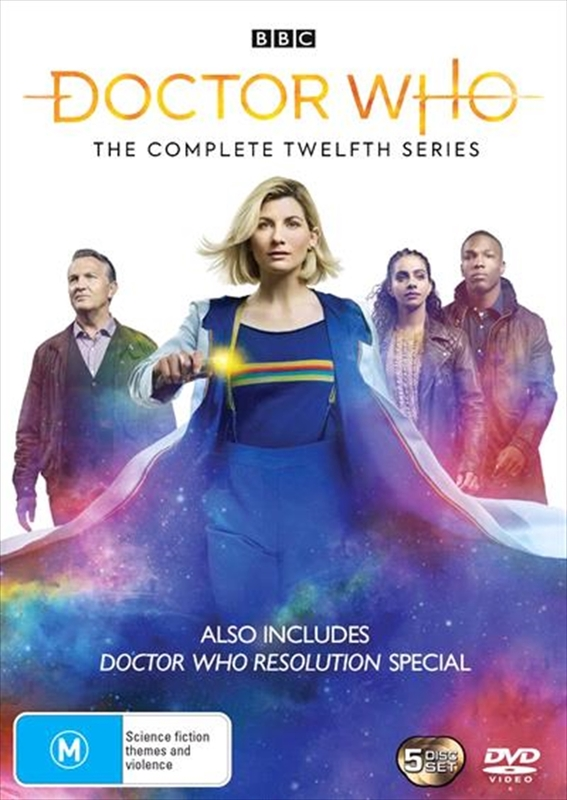 Doctor Who: The Complete Twelfth Series on DVD