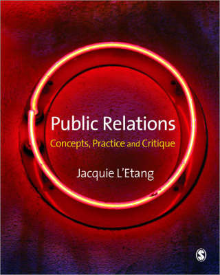 Public Relations by Jacquie L'Etang