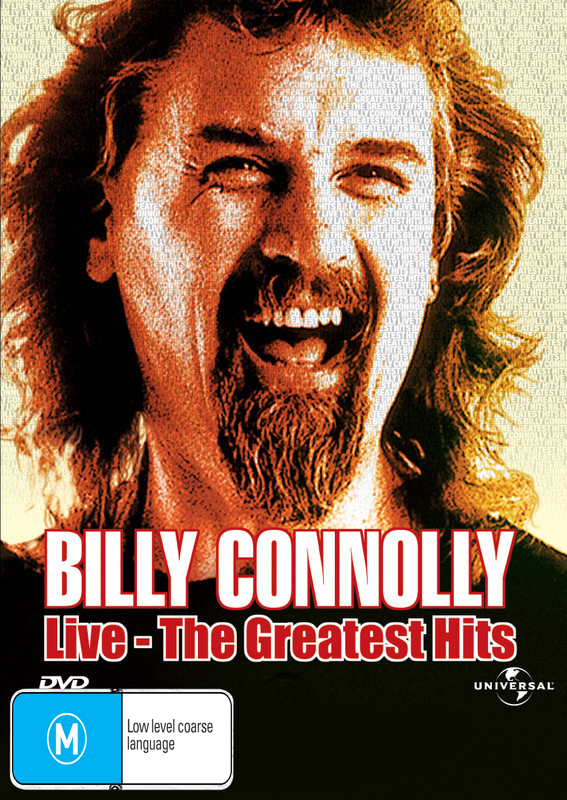 Billy Connolly: Live - The Greatest Hits on DVD image