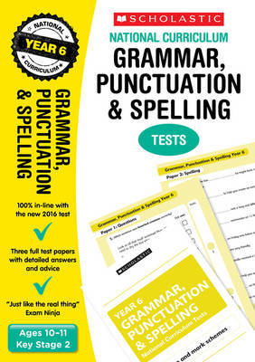 Grammar, Punctuation and Spelling Test - Year 6 by Lesley Fletcher