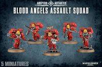 Warhammer 40,000 Blood Angels Assault Squad