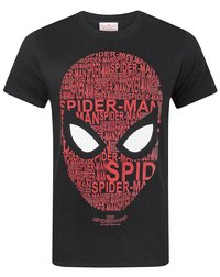 Marvel: Spiderman Homecoming - Text Face T-Shirt (XL)