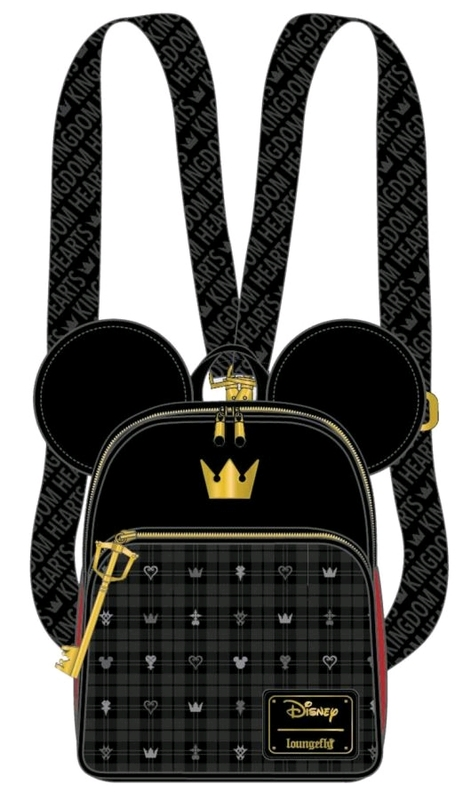 Loungefly: Kingdom Hearts Convertible Backpack - Mickey