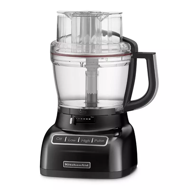 KitchenAid: 13 Cup Food Processor - Onyx Black