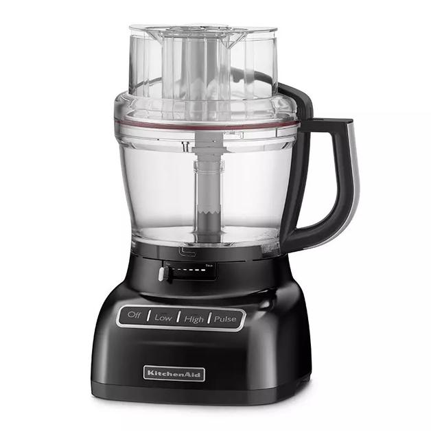 KitchenAid: 13 Cup Food Processor - Onyx Black