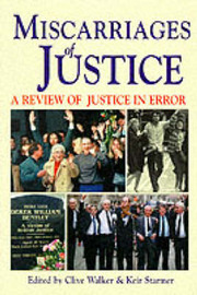 Miscarriages of Justice by Clive Walker