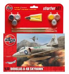Airfix Douglas A-4B Skyhawk Starter Set 1/72 Model Kit