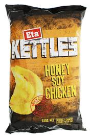 Eta Kettles Honey Soy Chicken 150g