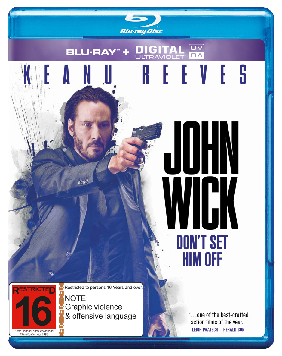 John Wick on Blu-ray, UV image