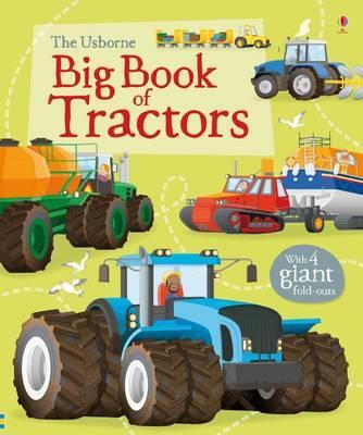 Big Book of Tractors by Lisa Jane Gillespie image