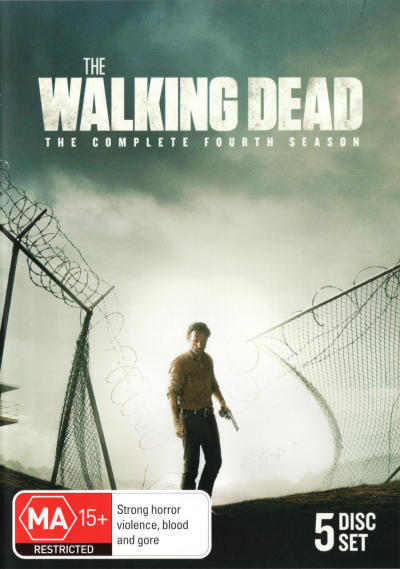 The Walking Dead - The Complete Fourth Season on DVD