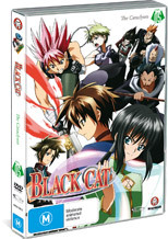 Black Cat - Vol. 5: The Cataclysm on DVD
