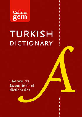 Collins Gem Turkish Dictionary by Collins Dictionaries