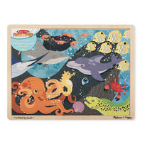 Melissa & Doug: Under The Sea Wooden Jigsaw - 24pc