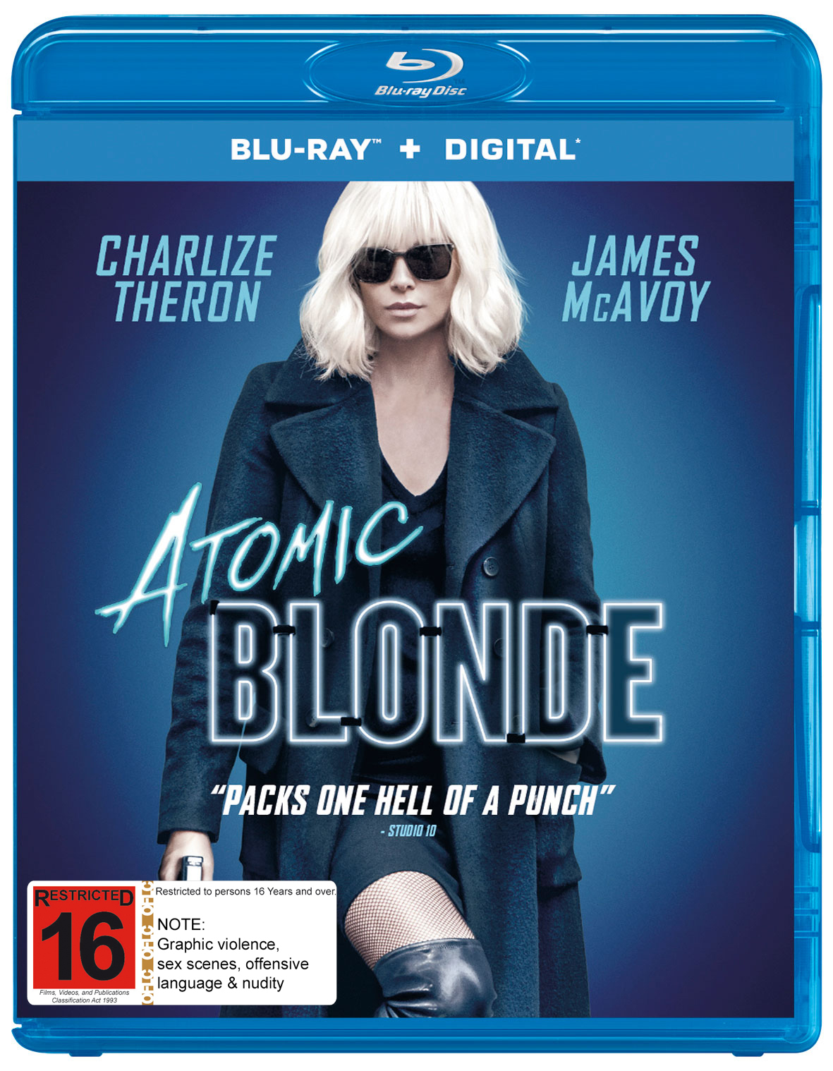 Atomic Blonde on Blu-ray image