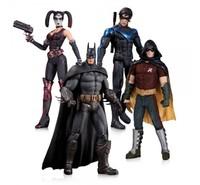 DC Comics Batman Arkham City Action Figure 4-Pack