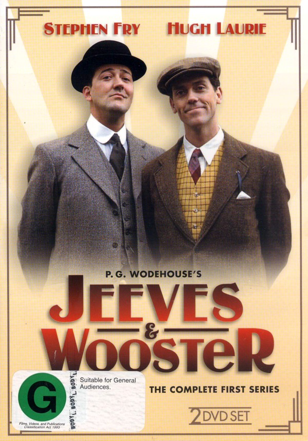 Jeeves And Wooster - Complete Series 1 (2 Disc Set) on DVD image
