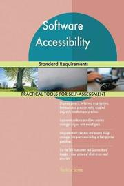 Software Accessibility Standard Requirements by Gerardus Blokdyk image