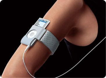 Apple iPod nano Armband - Grey