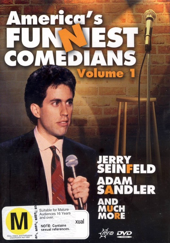 America's Funniest Comedians - Vol. 1 on DVD