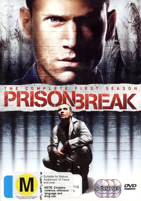 Prison Break - Complete Season 1 (6 Disc Set) on DVD