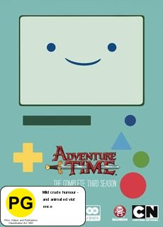 Adventure Time - The Complete Third Season on DVD