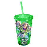 Toy Story Buzz Lightyear Green Plastic Travel Cup (473ml)