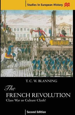 The French Revolution by T.C.W. Blanning image