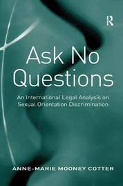 Ask No Questions by Anne-Marie Mooney Cotter image