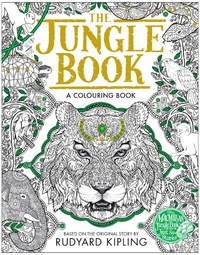 The Jungle Book Colouring Book by Rudyard Kipling