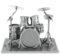 Metal Earth: Drum Set - Model Kit