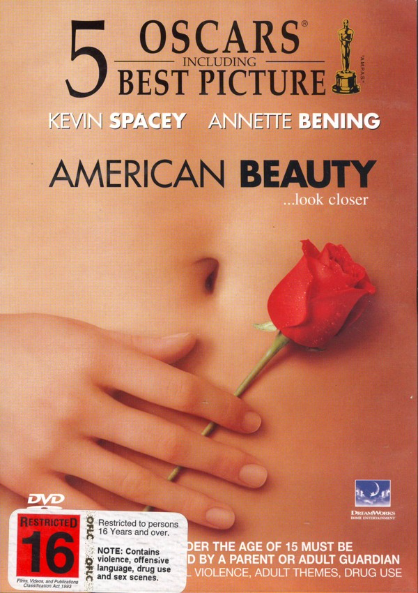 American Beauty (Academy Gold Collection) on DVD image