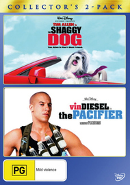 Shaggy Dog, The (2006) / The Pacifier - Collector's 2-Pack (2 Disc Set) on DVD image