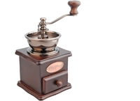 Wood Coffee Grinder (Dark)