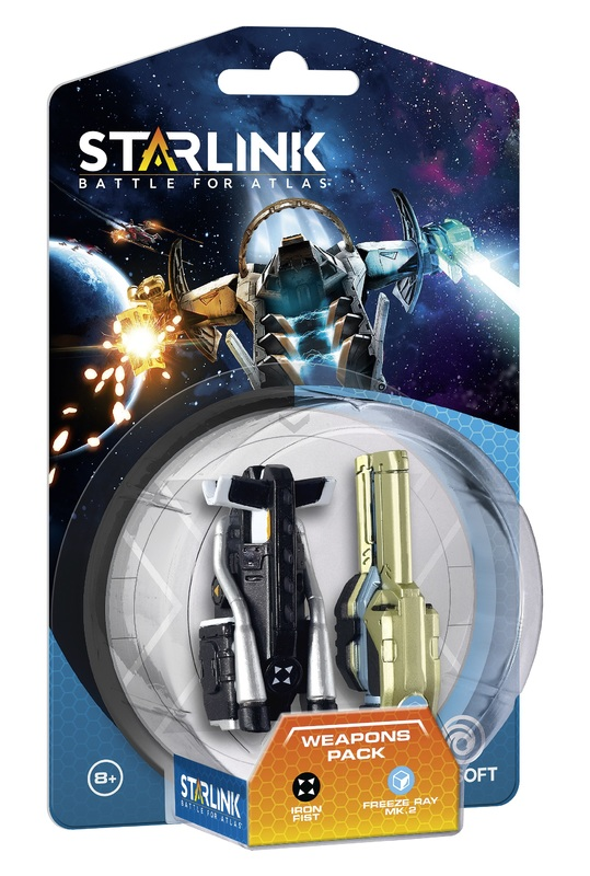Starlink Weapon Pack - Iron Fist/Freeze Ray for