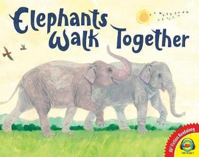 Elephants Walk Together by Cheryl Lawton Malone