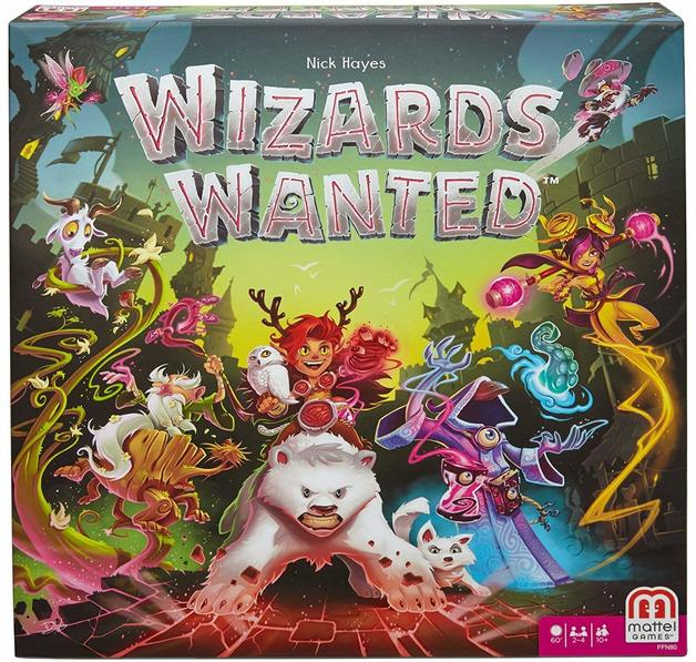 Wizards Wanted - Strategy Board Game