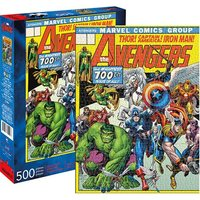 Marvel: 500 Piece Puzzle - Avengers Cover