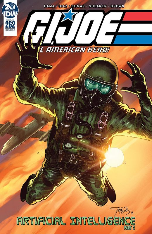 GI Joe: A Real American Hero - Artificial Intelligence #262 (Cover A) by Larry Hama