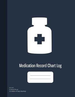 Medication Record Chart Log by Graphyco Publishing